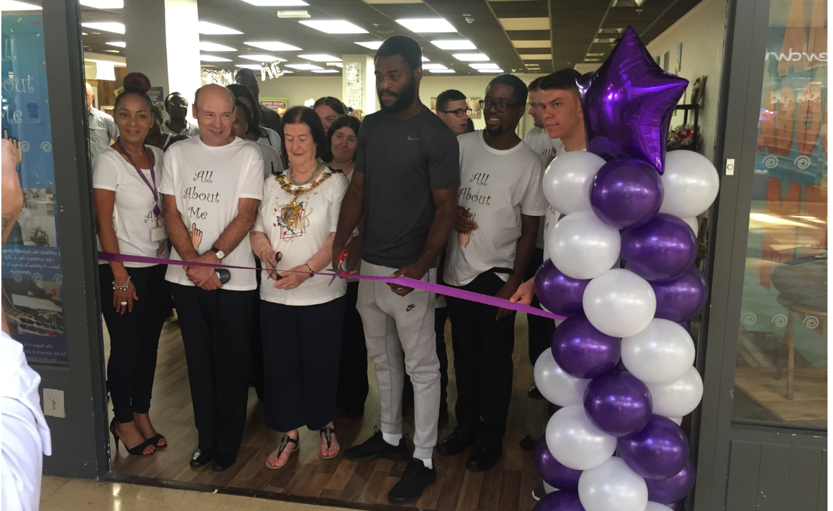 The opening ceremony of the All About Me boutique attended by Olympic bronze medalist, Boxer Joshua Buatsi.