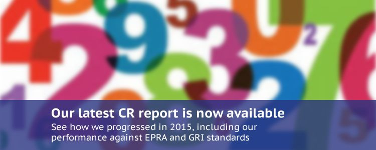 Our latest CR report is now available