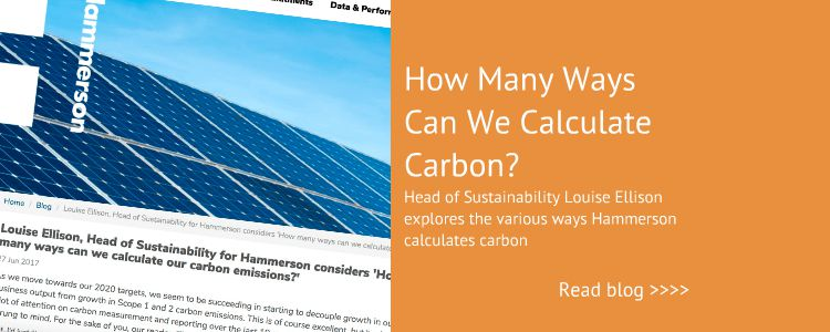 Blog on How we Calculate Carbon